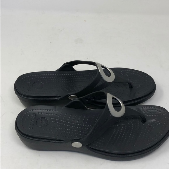 original huge inventory new arrivals Women's crocs sandals blk 9 a13